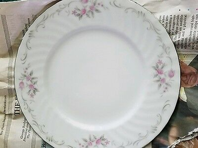 "Gold Standard Genuine Porcelain China 7 1/2"" Dessert Plates Vintage Japan colors"