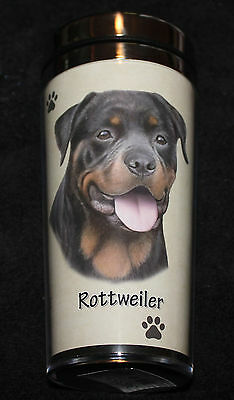 Rottweiler Dog Stainless Steel Insulated Travel Tumbler Thermos
