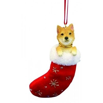 Shiba Inu Santa's Little Pals Dog Christmas Ornament