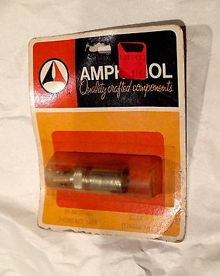NOS AMPHENOL 91-MC3F 3 Contact Jack Female Vintage Microphone Connector