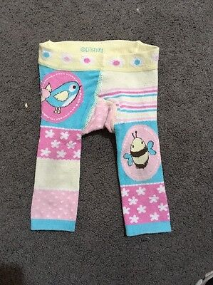 Baby Girls Disney Leggings Size 000 GUC