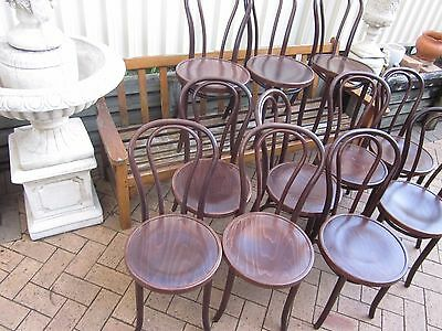 30 X No.18 Classic Bentwood Cafe/Restaurant Dining Chairs, Freight Available.