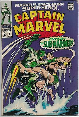 Captain Marvel U-PICK ONE #4 (2 copies) Marvel 1968 Silver Age PRICED PER COMIC