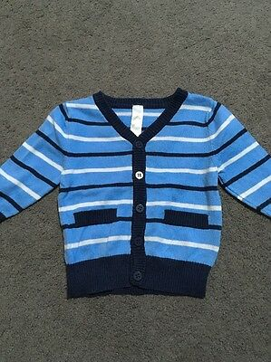 Baby Boys Long Sleeved Jacket Size 0 EUC