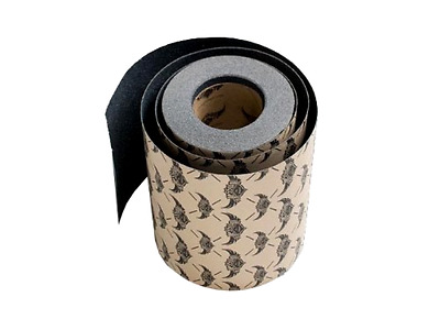 Skateboard Griptape Roll for Rock Solid Bonding to Deck Surface 10 in x 60 feet