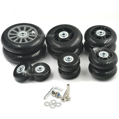 Trolley Case Travel Luggage Wheel Wear Resistant Wheels Replacement Parts