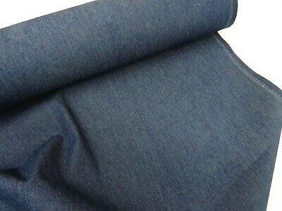 100% Cotton 4oz Washed Denim Craft Sewing Clothing Jeans Jackets Skirts Fabric