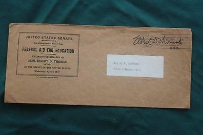 1947 United States Senate Federal Aid for Education Envelope