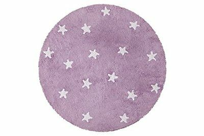 Lorena Canals C-10009 Cielo Purple Washable Rug, Viola (R1g)