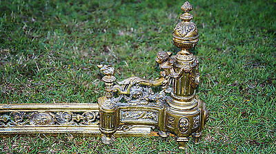 Brass Fireplace front surround vintage