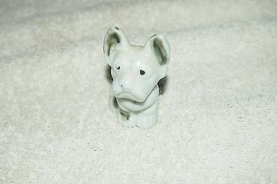 "Vintage French Bulldog Figurine – Japan – 2"" tall"