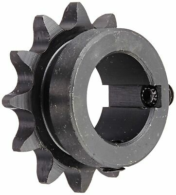 Tsubaki 40B12F-1 Finished Bore Sprocket, Single Strand, Hardened Teeth, Inch, #2