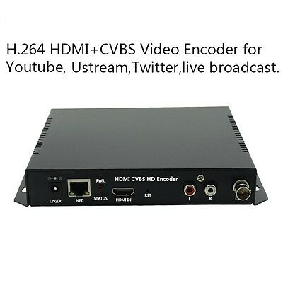 T-103 H.264 HDMI + CVBS HD Encoder for IPTV, Live Stream Broadcast, HDMI Video R