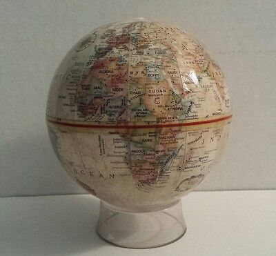"Replogle World Classic Series Vintage Miniature 4.5"" Inch Diameter Desktop Globe"
