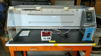 Flow Sciences 4' VBSE FS2020 Balance Fume Hood & Accessories