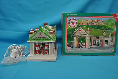 Texaco Town Filling Station 1930 Denver Gas Station 1st In Series 1995 Lighted