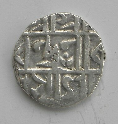 Independent State Cooch Behar Half Rupee Silver Rare Coin
