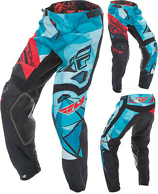 Fly Racing Kinetic Crux Pants Size 28 Dk Teal/Red 370-53928