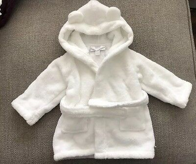 Baby Little White Company Bath Robe. Worn Once. 0-6months.
