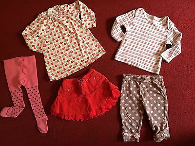 Baby girls clothes bundle (6-9 months)