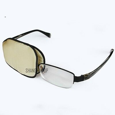 Kids Adult Silk Eye Patch Goggles Amblyopia Medical Soft Lazy Reusable Orthoptic