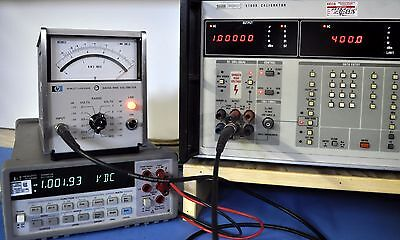 HP Agilent 3400A 10 MHz. RMS Voltmeter EXCELLENT!! NIST Calibrated & Certificate