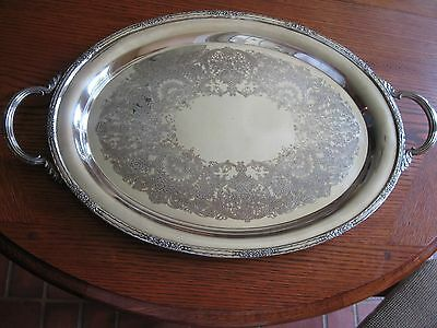 CAMILLE International Silver-Plate # 6081 Serving Tray