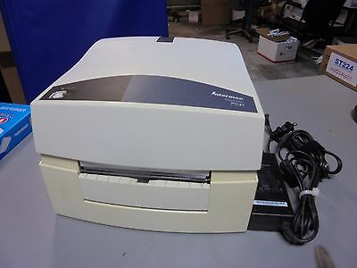 Intermec Easycoder PC41 Label Thermal Printer & Power Supply Tested