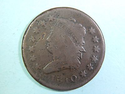 1810 Classic Head Large Cent-S283