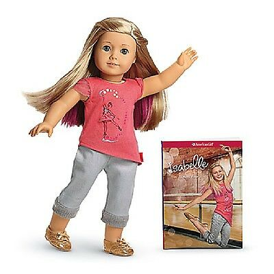 "American Girl Isabelle 2014 Doll of the Year 18 "" with book NEW in original box"