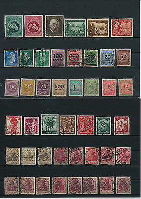 Germany, Deutsches Reich, Nazi, liquidation collection, stamps, Lot,used (LW 9)