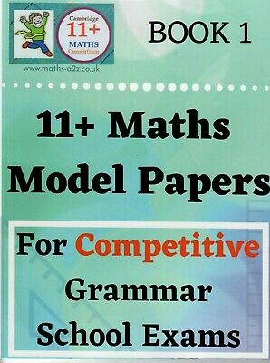 11+ Plus Maths Model Papers for Grammar School Exams ##2017/2018## GL Assessment