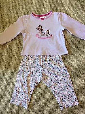 Girls Mothercare Pajamas Set 18-24 Months