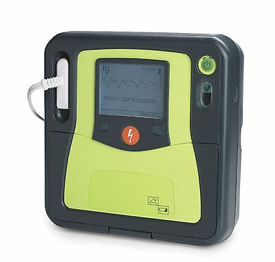 Like New Zoll AED Pro Defibrillator CPR with New 2022 CPR-D Pads and Battery ECG
