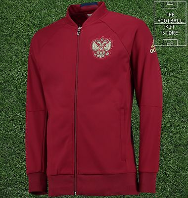Russia Anthem Jacket -  Official adidas Mens Training Wear - All Sizes