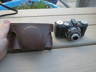 Vintage Spartus 35F Camera Chicago IL with field case