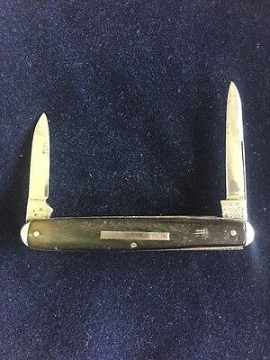 Vintage W.h. Morley And Sons 2 Blade Folding Pocket Knife
