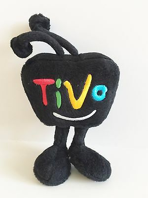 "TiVo Black TV 2013 Collectible Advertising Plush 9"" Toy"