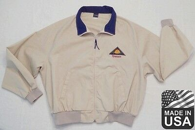 TEXACO JACKET 2XL Swingster Made in USA Quality Construction Lubricants Uniform