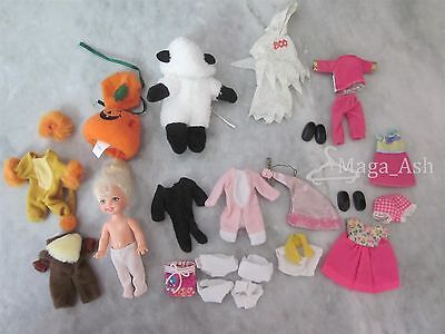 Barbie's Sister Kelly - Clothes Halloween Outfits (and Doll) - Lot of 10+