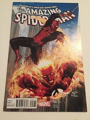 Amazing Spider-Man #700.5 In-Hyuk Lee Variant Cover Marvel Comics Book Volume 1
