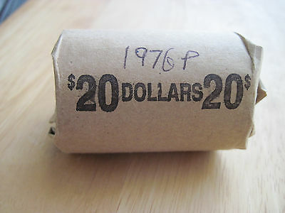 1976P&D Ike Dollar Roll Circulated Lot of 20