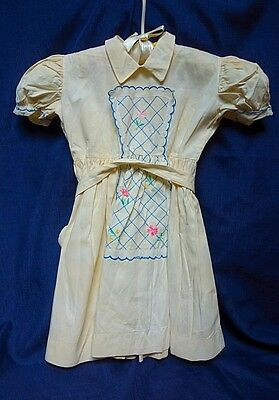 Vintage Girl's Dress 1950's Made in Italy for Gimbels