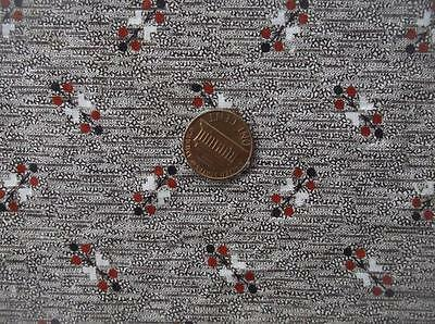 Back In Time Textiles~Rare Antique 1860-70 amazing fabric madder~