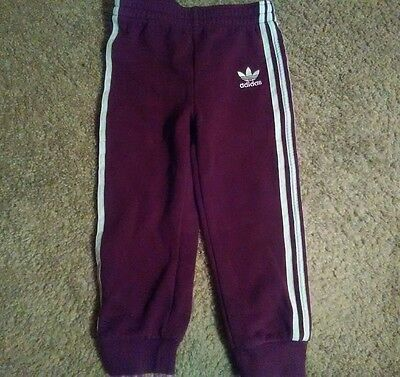 Adidas Kids Sweat Pants Size 3T Preowned