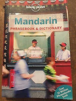 MANDARIN PHRASEBOOK AND DICTIONARY 8th Edition by Lonely Planet