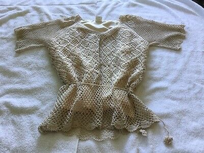 Crochet Vintage Skirt And Blouse  Beautiful Condition
