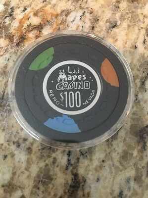 Mapes Casino Chip $100