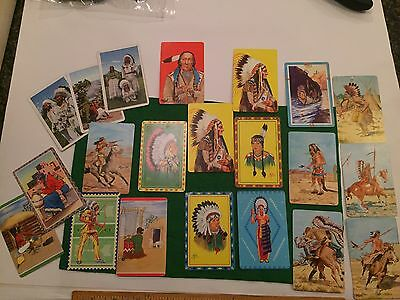 Vintage 1950's Trading Cards Lot (21)-by Quaker Pack-O-Ten and more!!