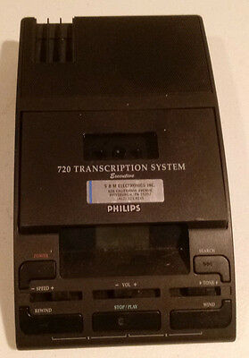 Philips Executive 720 Dictation System - Untested